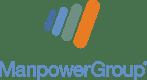 ManpowerGroup Web Stacked Logo for Dark Background